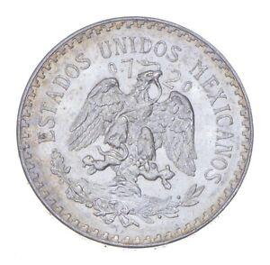 SILVER - WORLD Coin - 1938 Mexico 1 Peso - World Silver Coin *474