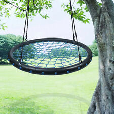 """Giant 100cm 40"""" Disc Swing Seat Flying Spider Tree Swing Nest Playground Toy Set"""