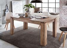 Esstisch Esszimmer Tisch Nussbaum Satin Küchentisch ausziehbar 160 200 cm Holz