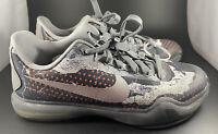 Nike Kobe X 10 A.D. Elite Low pain  726067-001 Size 6.5 Y Shoes Basketball Grey