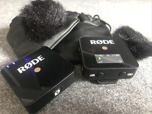 Mikrofon RoDE Wireless Go Compact Mikrofonsystem kabellos Funkstrecke  ohne OVP