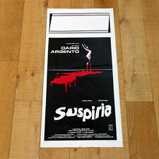 SUSPIRIA locandina poster Dario Argento Stefania Casini Harper Horror AG41