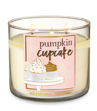 Bath & Body Works Pumpkin Cupcake Three Wick 14.5 Ounces Scented Candle