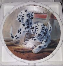 KNOWLES LYNN KAATZ IT'S A DOG'S LIFE PLATE COLLECTION LOT OF 6 PLATES #1, 4-8