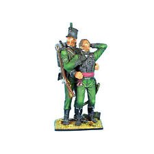 First Legion: NAP0291 British 95th Rifles Corporal Helping Wounded Officer Vigne