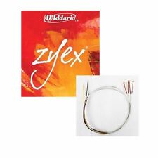 5 x Addario Zyex Violin String Set 4/4 E Ball with ALUMINUM D