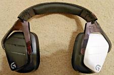 AS-IS Logitech G933 Artemis Wireless Virtual Surround Gaming Headset, Black