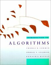 Introduction to Algorithms by Thomas Cormen