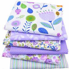 6pcs Tela Tejido de algodón costura ropa bebé paño de bolsos caja almohada