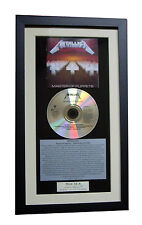 METALLICA Master Of Puppets CD Album GALLERY QUALITY FRAMED+EXPRESS GLOBAL SHIP