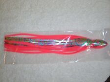 "10"" Octopus Squid Big Game Saltwater Trolling Lure Uv Replacement Skirt 656L4"