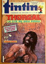 BD Comics Magazine Hebdo Journal Tintin No 3 42e 1987 Thorgal