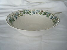 C4 Pottery Johnson Bros Old Chelsea Serving Bowl 21x7cm 3A7C