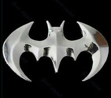Motorcycle Emblem Sticker 3D Logo Chrome BatMan Bat Man