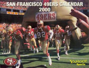 2000 San Francisco 49ers Team Calendar