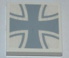 LEGO 7189 - Tile 2 x 2 with Iron Cross Pattern (Sticker)