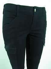 J BRAND HOULIHAN SKINNY CARGO Woman's Low rise Jeans SZ 26 CLEAN DARK NAVY BLUE