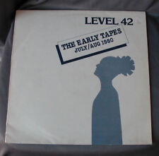 """LP 12"""" 33 rpm LEVEL 42 - THE EARLY TAPES JULY/AUG 1980"""