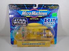 1995 MICRO MACHINES SPACE--STAR WARS XRAY FLEET--SLAVE 1 & Y WING STARFIGHTER