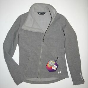 Under Armour Womens Cold Gear Infrared Stormshell Wool Blend Jacket Small $275
