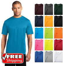 Mens Dri-Fit Workout Performance Moisture Wicking Gym Sport T-Shirt Dry T PC380