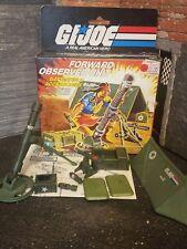 GI Joe VEHICLE PART 1985 Forward Observer        Mortar Projectile Box