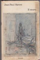 Jean-Paul Sartre, Il muro, Einaudi, 1967, I coralli, classici, letteratura