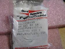 M/A COM CONNECTOR RECEPTACLE # 3004-5050-29 NSN: 5935-01-167-3379