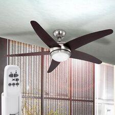 Decken Ventilator Wärme Rückgewinnung Raum Heizer Leuchte Lampe Lüfter Globo0306