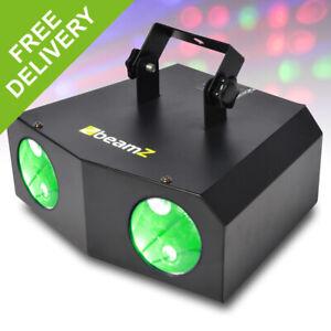Double Moonflower Effect LED Colour DJ light Disco Lighting Beamz Nomia Sky-Mini