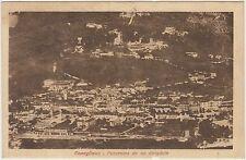 CONEGLIANO - PANORAMA DA UN DIRIGIBILE - STAZIONE FERROVIARIA (TREVISO)