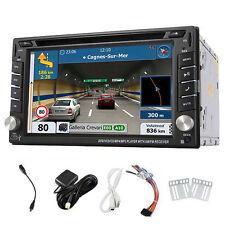 "6.2"" Double 2 Din Car DVD GPS IN-Dash Player Radio Stereo Sat Nav Bluetooth iPod"
