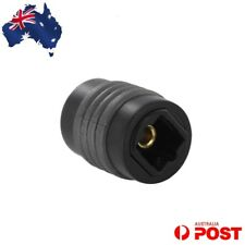 Optical Fibre Toslink Cable Female Adaptor Joiner Connector Audio Plug