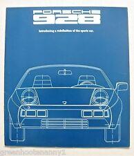 1977 Porsche 928 Brochure