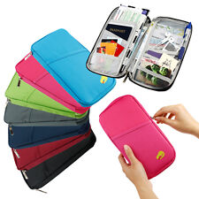 2pics Travel Accessories Passport Holder Wallet Organizer Bag Case Pouch