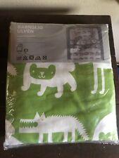 Barnslig Ulven Ikea Twin Quilt Cover Pillowsham Green Animals