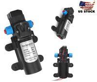 Portable 12V 100PSI 5L Electric Diaphragm Water Pump Self Priming High Pressure