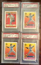 4 different Roger Clemens PSA 10 O-Pee-Chee Stickers 1988 and 1989 POP 2,3,4 & 6