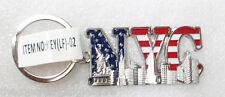 2x New York Souvenir Key Chain, Statue of Liberty Keychain LF02