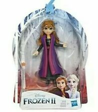 Disney Frozen 2: Anna Small Doll Figurine Toy with Removable Cape Hasbro Girl 3+