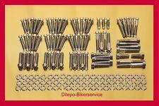 Harley Davidson V-Rod stainless steel conicle bolt kit motor engine cover 140pcs