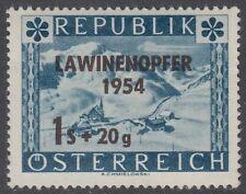 Österreich Austria 1954 ** Mi.998 Lawinenunglück Avalanche accident