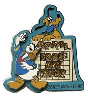 NEW DISNEYLAND RESORT 3D LE 1500 APRIL FOOLS DAY 2002 PIN DONALD DUCK PLUTO WDW