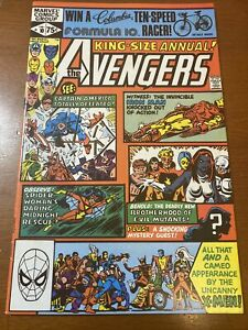 AVENGERS Annual #10 First Appearance ROGUE of the X-MEN Marvel Comic 1981