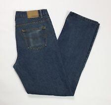 1st american jeans uomo usato gamba dritta denim blu w34 tg 48 boyfriend T3317