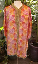 Tunic/Kaftan Casual Vintage Tops & Shirts for Women