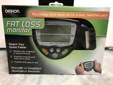 Omron Fat Loss Monitor Tracker Handheld HBF-306C Body Fat BMI Body Mass TESTED