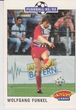 Panini Fussball 92-93 Action Cards #102 Wolfgang Funkel 1. FC Kaiserslautern