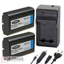 EN-EL1 2xBattery + CHARGER - For Nikon Coolpix 4800 5000 5700 8700 Minolta A200