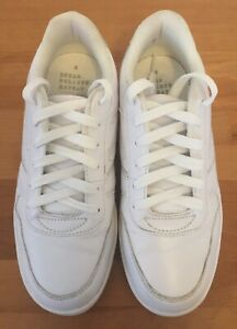 NEXT GIRLS WHITE LACE UP TRAINERS SHOES SIZE 4